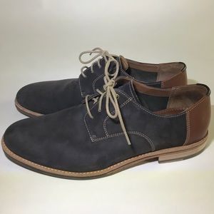 Johnston and Murphy Grey Oxfords like new